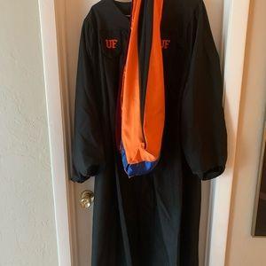 University of Florida Master's Regalia